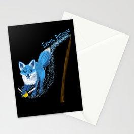 Expecto Patronum Fox Stationery Cards