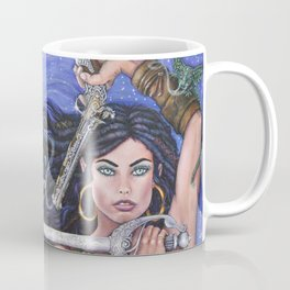 Priscilla the Peace Keeper by DeeDee Draz Coffee Mug