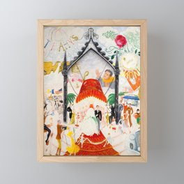 The Cathedrals of Fifth Avenue by Florine Stettheimer, 1931 Framed Mini Art Print