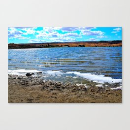 A Day By Soap Lake Canvas Print