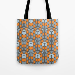 cascade - orange Tote Bag