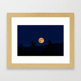 """Blue"" Moon Framed Art Print"