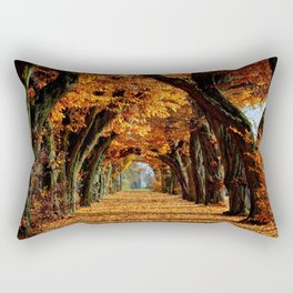 autumn Park Rectangular Pillow