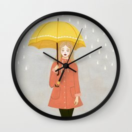 showers & flowers Wall Clock