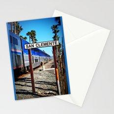 San Clemente Surfliner Stationery Cards