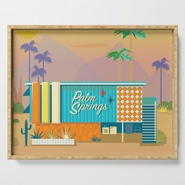 Palm Springs Apartment Serving Tray