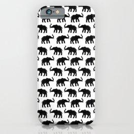 Elephants on Parade iPhone Case