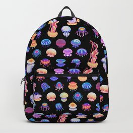 Jellyfish Day - dark Backpack