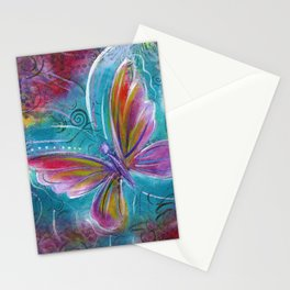 Butterfly! Original painting by Mimi Bondi Stationery Cards