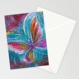 Butterfly! Original painting by Mimi Bondi Stationery Cards