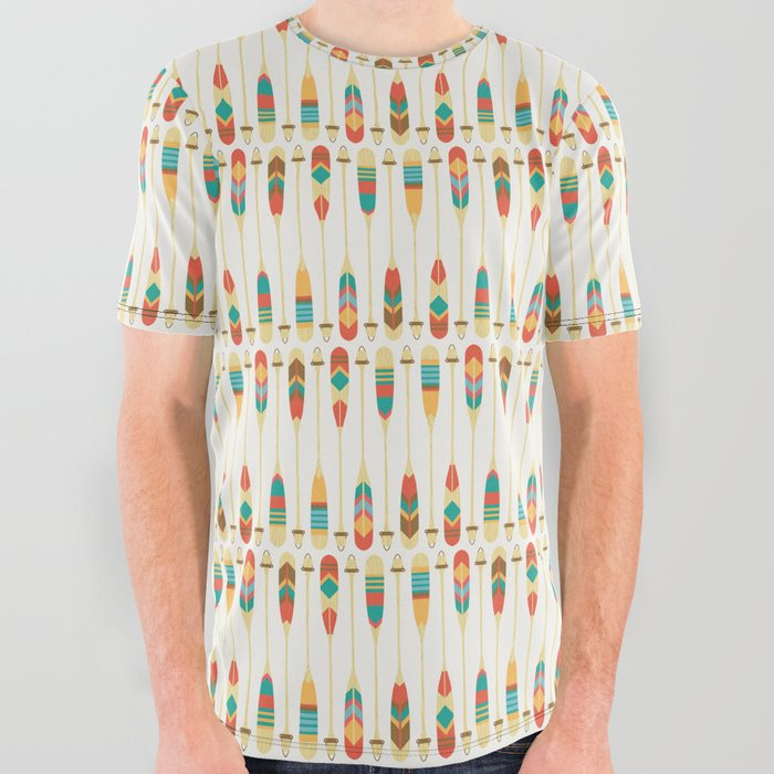 f2536aadcd68 Summer Lake All Over Graphic Tee by budikwan | Society6
