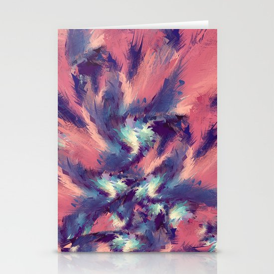 Colorful Energy Stationery Cards