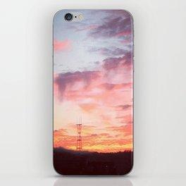 Potrero Sky iPhone Skin
