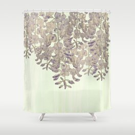 Wisteria - a thing of beauty is a joy forever Shower Curtain