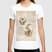 homer T-shirts featuring Leonardo's Homer by SilentKW