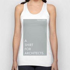 BDFD - Architects Unisex Tank Top