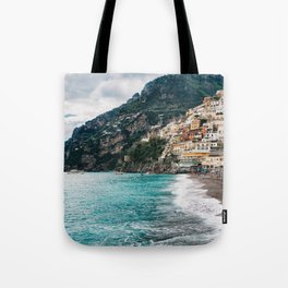 Rainy Positano XII Tote Bag