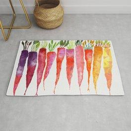 Rainbow Carrots Rug