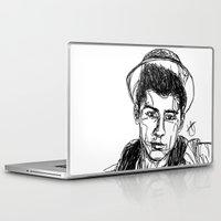 zayn malik Laptop & iPad Skins featuring Zayn Malik by Hollie B
