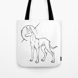 Egyptian Pharaoh Hound halo Tote Bag