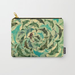 Dholphins Carry-All Pouch