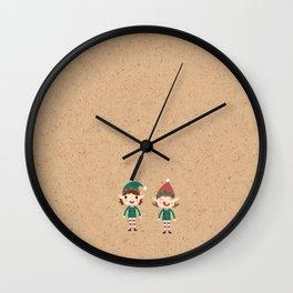 Day 17/25 Advent - Santa's Slaves I Wall Clock