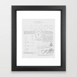 Master Copy of Louis Sullivan's System of Ornament - Plate 3 Framed Art Print