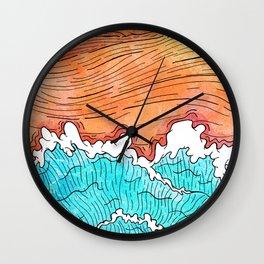 Seashore Wall Clock