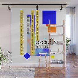 "Cocktail ""L"" - Long Island Iced Tea Wall Mural"