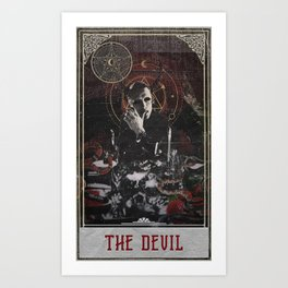 Hannibal Tarot - The Devil Art Print
