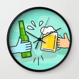 Beer understands! Wall Clock