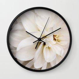 Judi Dench Dahlia Wall Clock
