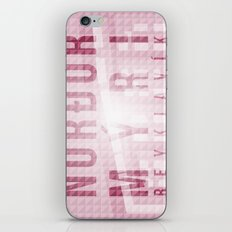 Nordurmyri Pink iPhone & iPod Skin