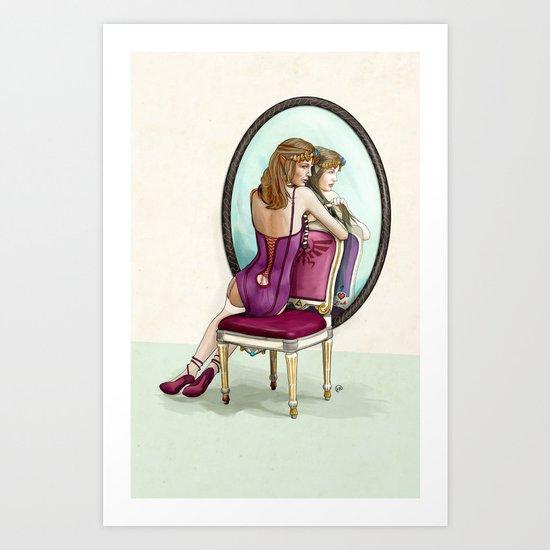 Vanity Games - Zelda Art Print