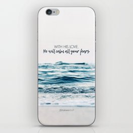 He Will Calm All Your Fears iPhone Skin