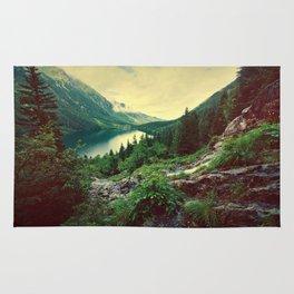 Lake In Mountains Rug