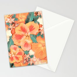 Aloha Orange Sherbet Stationery Cards