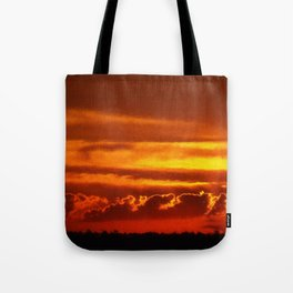 Sunset Layers | Ferntree Gully Tote Bag