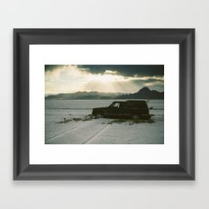 A Salt Place  Framed Art Print