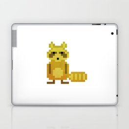 Pixel Racoon Laptop & iPad Skin