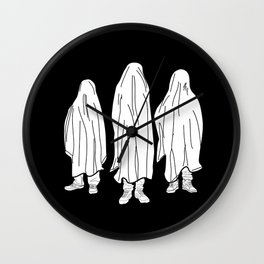 Ghosts 2 / Black Wall Clock