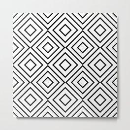 Geo Square 02 Metal Print