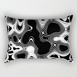 Abstract Pseudo Arteries Rectangular Pillow