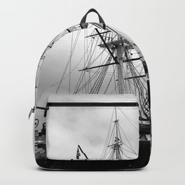 A Sail Warship The USS Constellation Backpack