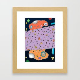 Amoeba Framed Art Print