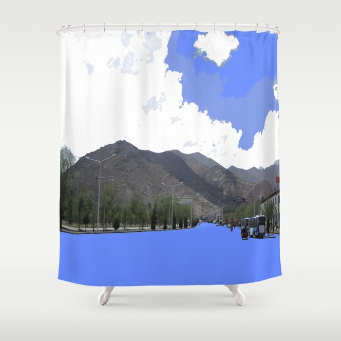 Lots Of Fresh Air Shower Curtain