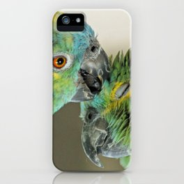 Forever in love iPhone Case