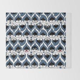 Deltarune Lancer Drop Pattern Throw Blanket