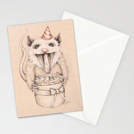 Birthday Possum's Favorite Gift Stationery Cards