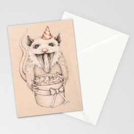 Birthday Possum's Favorite Gift Stationery Cards